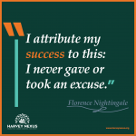 Sunday - Florence Nightingale Quote