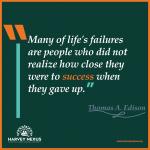 Sunday - Thomas Edison Quote